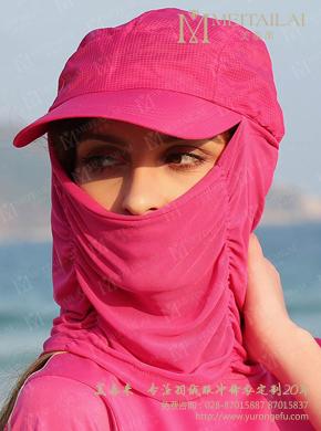 女士防沙太阳帽